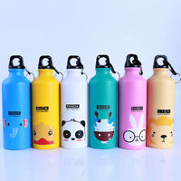 500ml Kids Baby Outdoor Sports Bottle Cartoon Animal Pattern Water Bottle S
