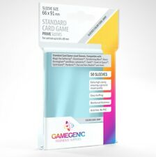 50 Gamegenic Standard Card Size Board Game Sleeves Clear 66 x 91mm