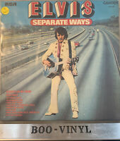 Elvis Presley - Separate Ways (LP, Album ) Camden CDS 1118 Ex / Ex