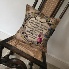 Alice In Wonderland Changed - Covers Pillow Cases Home Decor or Inner