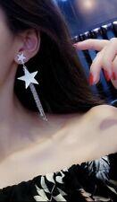 Earring Boho Festival Party Boutique Uk Silver Large Tassel Star Luxury Fashion