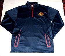 Cleveland Cavaliers Wine & Gold United Member Medium Pullover Warm Up Jacket