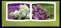 LILAC = Pair cut from booklet = Canada 2007 #2208a MNH