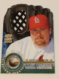 Mark McGwire diecut insert 2000 Pacific Paramount Fielders Choice 1998 Sosa 62