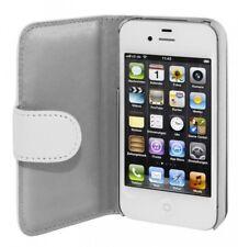 Artwizz Caso SeeJacket de piel cubierta de la caja para el iPhone 4 4s blanca B-