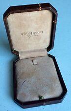 Vintage GERALD GENTA Jewellery Jewellry Box Necklace Original 1950´s Case OEM