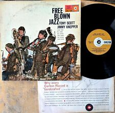 FREE BLOWN JAZZ LP: TONY SCOTT, JIMMY KNEPPER Clark Terry Bill Evans Paul Motian