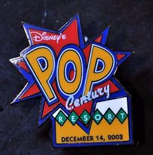 Disney Pins - WDW - Pop Century Resort Opening Day - LE - Vintage! Rare!