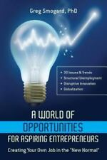 A World of Opportunities for Aspiring Entrepreneurs: Creating your own job in