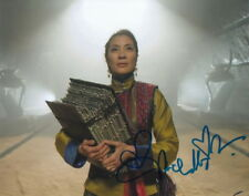 MICHELLE YEOH.. The Mummy: Dragon Emperor's Zi Yuan - SIGNED