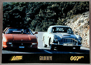 James Bond Goldeneye Collector Card #50