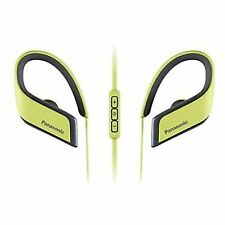 S0401689 Earphones Bluetooth Sports With Microphone Panasonic Rp-bts30e Yellow