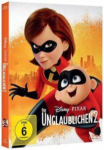 Die Unglaublichen - Teil: 2 [Blu-ray/NEU/OVP] Walt Disney & Pixar im Schuber