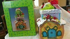 Rare Nib How the Grinch Stole Christmas Animated Musical Chimney Le 6590/15000