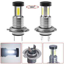 2X H7 360º LED Scheinwerfer Kit Fern-/ Abblendlicht Xenon Birne Lampe Weiß 6000k