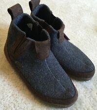 Unisex Women's Haflinger Wool Slip On Booties Slippers 42/ W 11 / M 9  NWT $126
