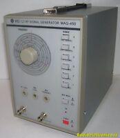 RF Signal Generator. MAG-450 Generador Alta Frequency