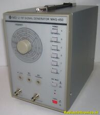 RF Signal Generator.  MAG-450 Generatore High Frequency