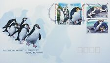 Australian Antarctic Territory Stamps, First Day Cover, Royal Penguins - 7/8/07