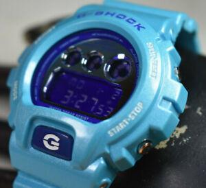 Casio G-Shock DW-6900CB-2 Blue 1289 Crazy Color Men's Watch NEW BATTERY!