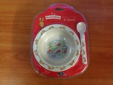 Bunnykins Royal Doulton Suction Bowl & Spoon Set - Brand new