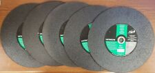 "LOT OF 5 - HITACHI ITEM NO. 727-681 CUT OFF MASONRY WHEEL 14"" x 1/8"" x 1"" EACH"
