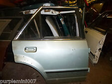 Ford Escort mk3 off side rear door also orion and ghia in fern green