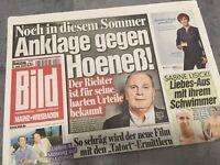 Bildzeitung BILD 09.07.2013 * Sabine Lisicki * Anklage gegen Hoeneß * FC Bayern
