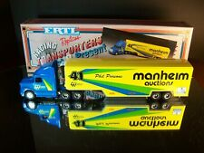 Phil Parsons #41 Manheim Auctions Volvo 1993 Racing Team Transporter Ertl 1:64