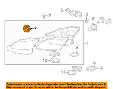 Lexus TOYOTA OEM LS460 Headlight Head Light Lamp-High Beam Bulb Cap 9007566004
