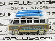 Greenlight 1:64 Loose Collectible 1964 Volkswagen Vw Samba Bus w/Surf Boards