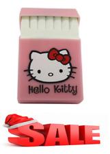 Hello Kitty lovery Silicone cigarette case, fashion cover, Holds 20 Cigarettes