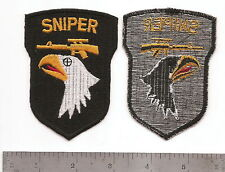 #051 US ARMY 101ST DIVISION SNIPER PATCH