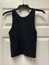 ATHLETA Insight Rib Tank NWT - SMALL Black $59