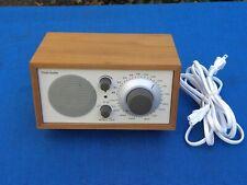 Tivoli Audio Model One AM/FM Table Radio by Henry Kloss - Aux Input - Walnut