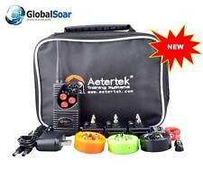 Aetertek 216D-550-3 600 Yard 3 Dog Training Anti Bark & Waterproof Collar
