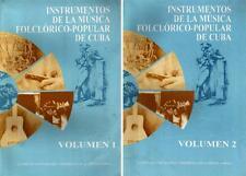 INSTRUMENTOS DE LA MUSICA FOLCLORICO POPULAR DE CUBA Santeria Afro Cuban  Music