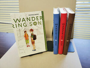 Wandering Son 1-4 Hardcover English Manga Set Takako Shimura Good/Fair OOP