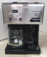 Cuisinart CHW12C 12Cup Programmable Coffeemaker & Hot Water System $130 - READ