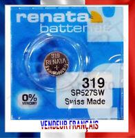 Pile de Montre watch Renata 319 SR527SW Suisse Renata Batteries battery