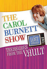 The Carol Burnett Show: The Lost Episodes Treasures from the Vault DVD 2016 NEW
