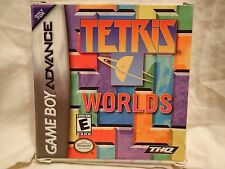 Tetris Worlds (Nintendo Game Boy Advance) Complete, tested, inc French manual
