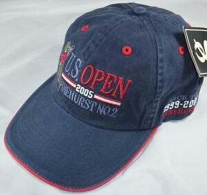 New 2005 US Open (Pinehurst No. 2) Navy GOLF HAT
