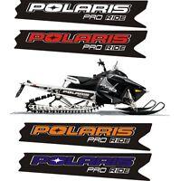 POLARIS RUSH PRO RMK 600 700 800 INDY ASSAULT 121 155 163 TUNNEL DECAL STICKER a