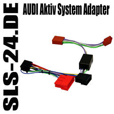 Aktiv System Adapter BOSE AUDI A2 A3 A4 A6 A8 MINI ISO Radioadapter 630092