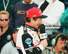 DALE EARNHARDT SR WINS THE 1998 DAYTONA 500 VICTORY LANE 8X10 PHOTO NASCAR CUP