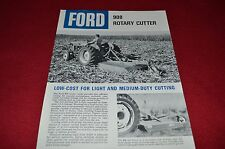 Ford Tractor 908 Rotary Cutter Dealer's Brochure LCPA