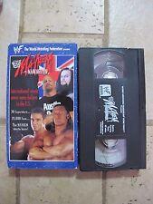 WWF MAYHEM IN MANCHESTER 1998 VHS video Stone Cold Undertaker wrestling WWE NXT