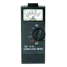 Tenmars Fonometro analogico intervalli 40-120db Custodia & Istruzioni Complete