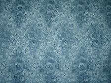 """Diseño de la Tela De Cortina Scalamandre """"Royal dormitorios"""" 5.9 metros, 100% Lana Azul"""